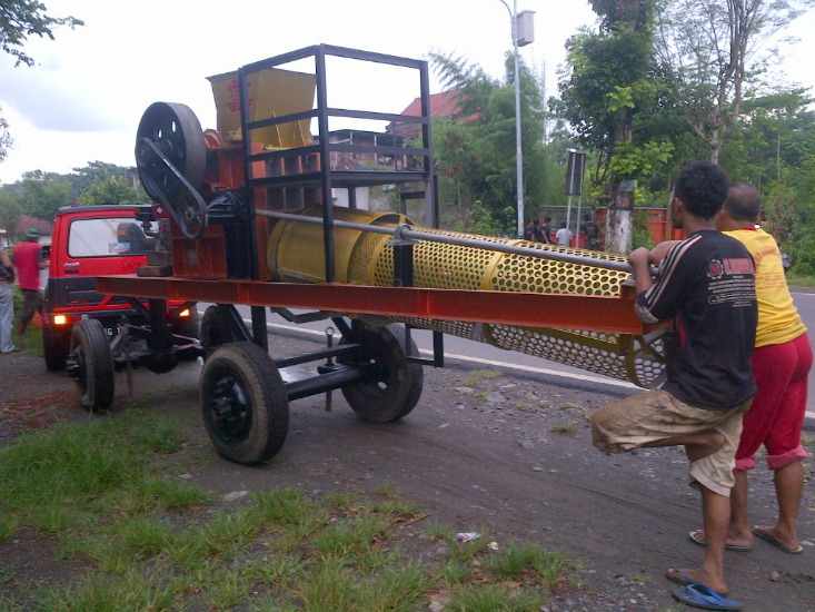 Jual Stone Crusher Mobile