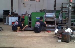 Kumpulan video mesin cetakan bata CV Bengkel Murni