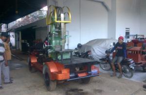 Video proses pengiriman mesin benso jalan CV Bengkel Murni