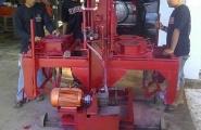 Mesin Hydraulis Paving, Batako